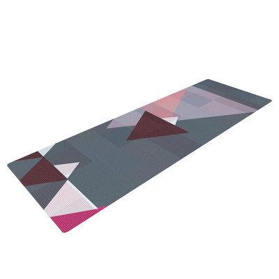 Kess Inhouse Geo II by Suzanne Carter Geometric Yoga Mat