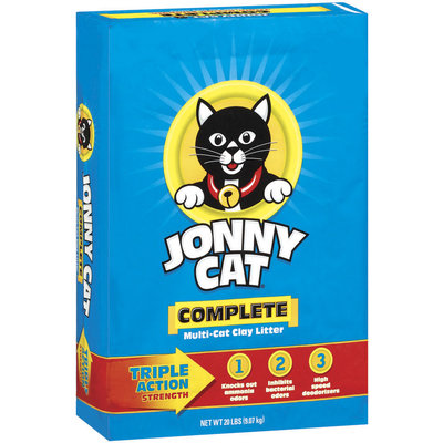Jonny Cat Complete Multi-Cat Clay Cat Litter 20 Lb Stand Up Bag