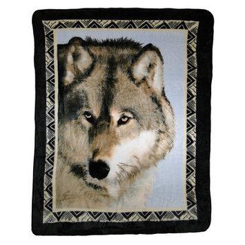 Kohls Wolf Prowl Hi Pile Super Plush Throw Blanket