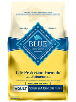 THE BLUE BUFFALO CO. BLUE™ Life Protection Formula® Healthy Weight Chicken and Brown Rice Recipe For Adult Dogs