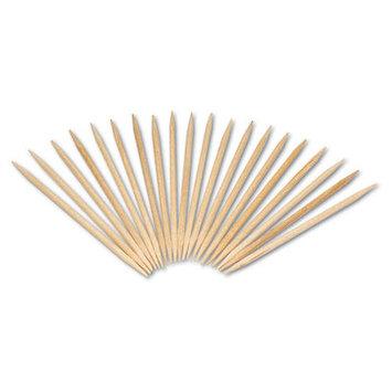 Royal Paper RPPR820 - Royal Round Wood Toothpicks