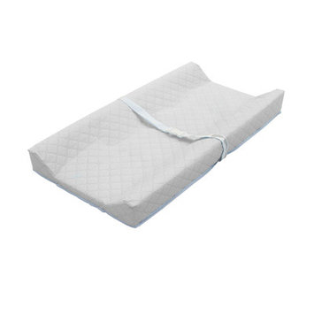 Amwan LA Baby Contour Changing Pad with White Terry Cover
