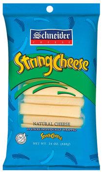 Schneider Natural 24 Ct String Cheese 24 Oz Peg