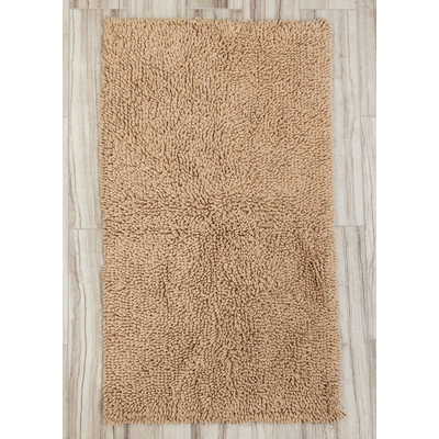 Textile Decor Castle 2 Piece 100% Cotton Melbourne Spray Latex Bath Rug Set, 24 H X 17 W and 30 H X 20 W