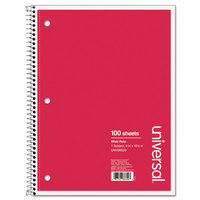 Universal Wirebound Notebook, Wide Ruled (100 Sheets)