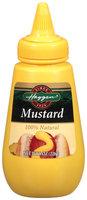 Haggen 100% Natural Mustard 8 Oz Squeeze Bottle
