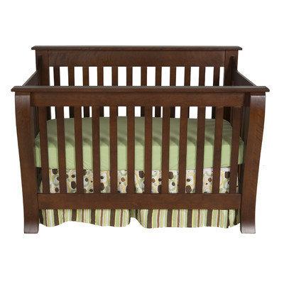 Kidz Decoeur Augusta Convertible Crib Finish: Fireside