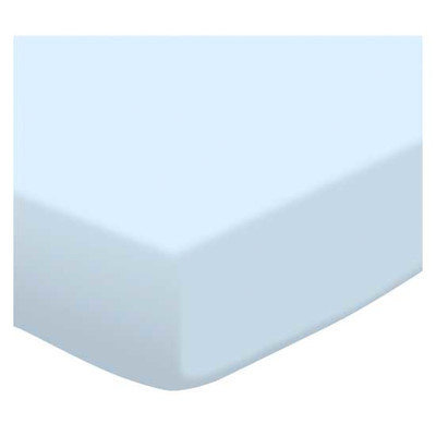 Stwd Jersey Knit Fitted Bassinet Sheet Color: Baby Blue