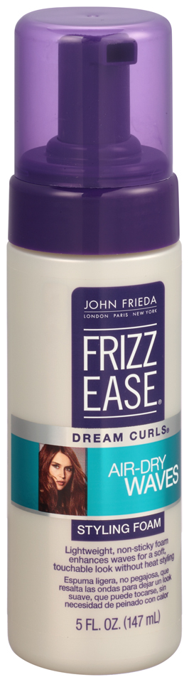 John Frieda Frizz Ease® Dream Curls® Air-Dry Waves Styling Foam 5 fl. oz. Pump