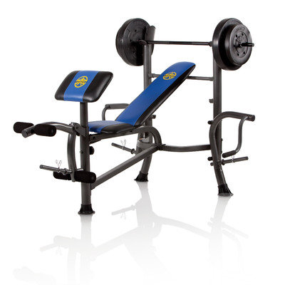 Impex Inc. Marcy 80 lb. Weight Set Bench with Butterfly - IMPEX, INC.