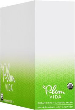 Plum Vida™ Organic Fruit & Veggie Blend Pear, Kale, Spinach, & Celery 6-5 oz. Pouches