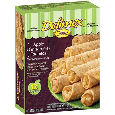 Delimex Fruit Taquitos Apple Cinnamon 20.4 Oz Box