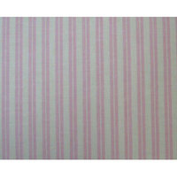Stwd Dual Stripe Portable Mini Fitted Crib Sheet Color: Pink