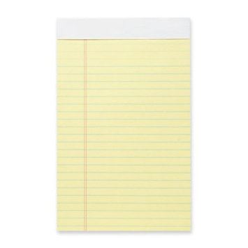 Business Source BSN63107 Micro-Perforated Legal Ruled Pads Pack of 12