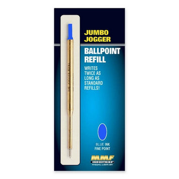MMF Industries Refill Jumbo Jogger Pens, Medium, Blue Ink