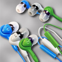 Teledex Inc. HD-20X3 3 pc set inTalk - High Performance Stereo Earphones with Microphone