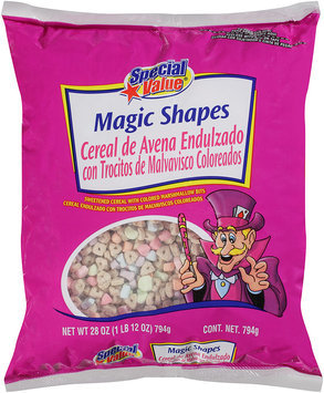 Special Value® Magic Shapes Sweetened Cereal 28 oz Bag