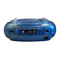 Hamilton Electronics MPC6060 Hamilton MPC CD and Dual Cassette Boom Box