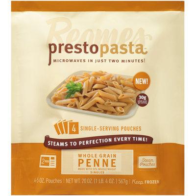 Reames® Presto Pasta™ Steam Pouches Whole Grain Penne Singles 4-5 oz. Pouches