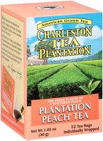 Charleston Tea Plantation Plantation Peach® Tea 12 ct Box