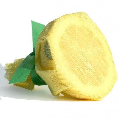 Restaurantware Lemon Wraps with Satin Ribbon (100 Count)