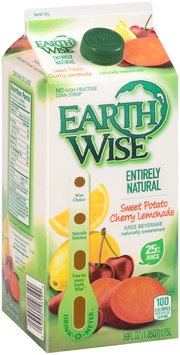 Earth Wise™ Entirely Natural Sweet Potato Cherry Lemonade Juice Beverage 59 fl. oz. Carton