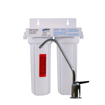 Watts Premier UC-2 Under Counter 2-Stage Water Filtration System