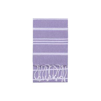 Nine Space Stripe Hand Towel 2 ea, 31 x 15, Lavender, 1 ea