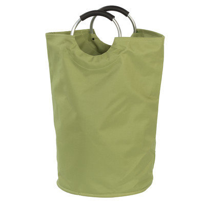 Creative Bath Canvas Bag Hamper, Green