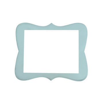 Secretly Designed Chase Frame Size: 16x20, Color: Baby Blue
