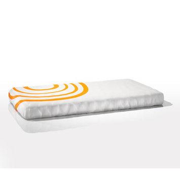 Nook Sleep Systems Organic Fitted Ripple Crib Sheet Color: Poppy Orange