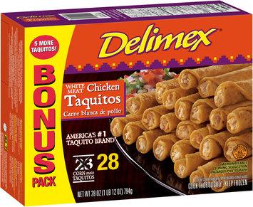 Delimex® White Meat Chicken Taquitos 28 ct Box