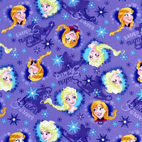Stwd Frozen Sisters Fitted Bassinet Sheet