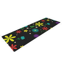 Kess Inhouse Flower I by Louise Yoga Mat