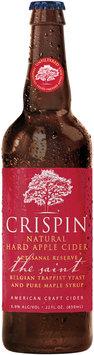 Crispin® Artisanal Reserve® The Saint Hard Apple Cider 22 fl. oz. Glass Bottle