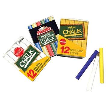 Marsh Office School Chalk Assorted Colors 12-sticks per box