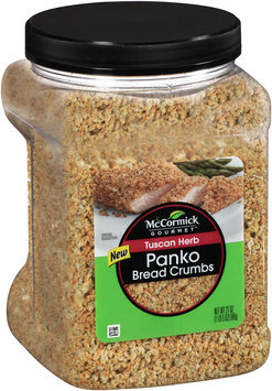 McCormick® Gourmet™ Tuscan Herb Panko Bread Crumbs