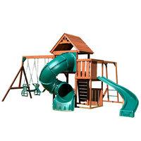 Swing-N-Slide Grandview Twist Wood Complete Play Set