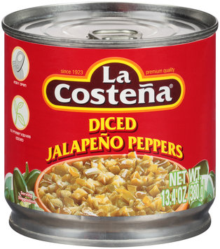 La Costena® Diced Jalapeno Peppers 13.4 oz. Can