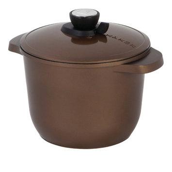 Maker Homeware SmartSteam 4.5 QT Classic Cookware Color: Bronze