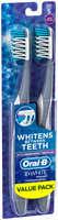 3D White Oral-B 3D White Radiant Whitening Toothbrush 40 Soft 2 Count