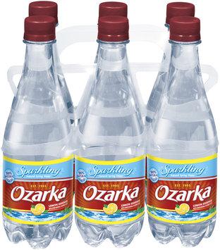 Ozarka Lemon Essence Sparkling Natural Spring Water