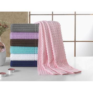 Berrnour Home Piano Bath Towel Color: Pink