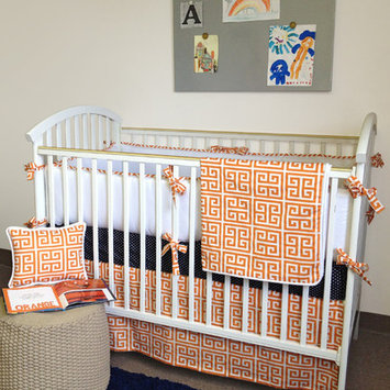 Bebe Chic Alex 4 Piece Crib Bedding Collection-Alex 4 Piece Crip Bedding Set