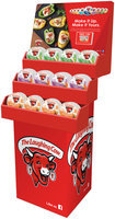 The Laughing Cow® Creamy Swiss Light, Creamy Swiss Garlic & Herb and Creamy Queso Fresco Chipotle Cheese 48ct. Display
