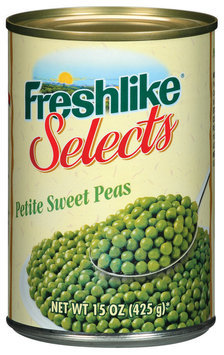 Freshlike Selects Petite Sweet Peas 15 Oz Can
