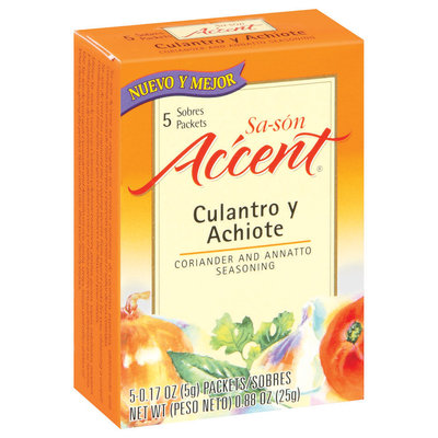 Accent Sa-Son Coriander & Annatto 0.17 Oz Packets Seasoning 5 Ct Box