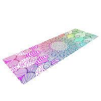 Kess Inhouse Rainbow Dots by Monika Strigel Yoga Mat