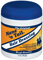 Mane 'n Tail  Trilingual Hair Dressing 5.5 Oz Plastic Jar