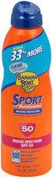 Banana Boat® Sport Performance® Clear UltraMist® Broad Spectrum SPF 50 8 fl. oz. Can